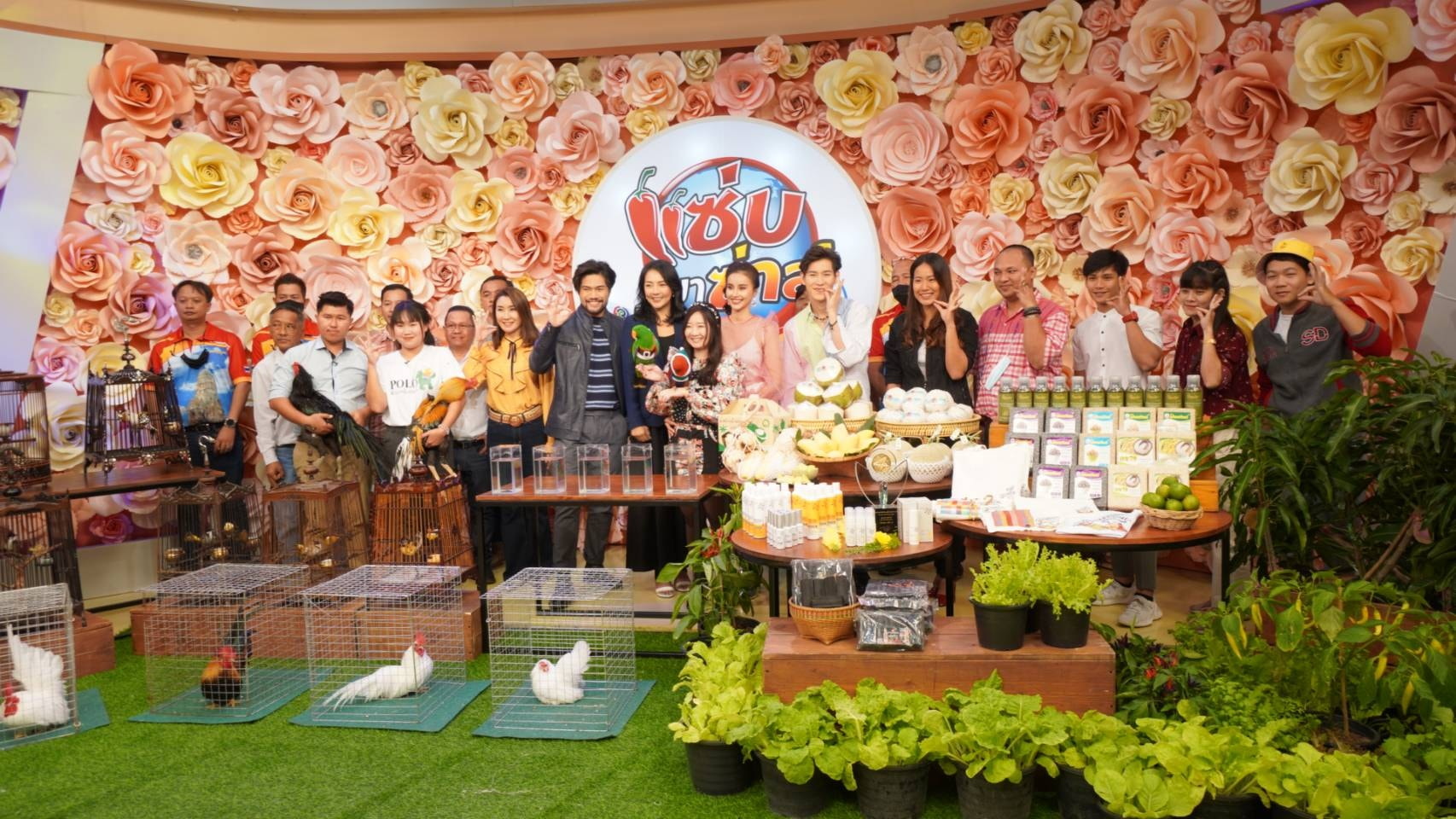 อมินตาออกบูธ งานพืชผักรักษ์สุขภาพและงานมหกรรมสัตว์ปีกสวยงามแห่งประเทศไทย ครั้งที่ 9 ณ สวนปาล์มฟาร์มนก จ.ฉะเชิงเทรา